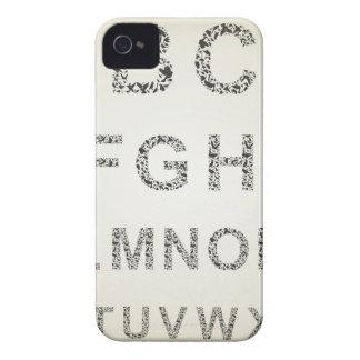 鳥アルファベット Case-Mate iPhone 4 ケース