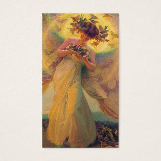 鳥フランツDvorak 1910年の天使 名刺
