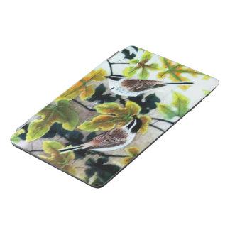 鳥及び葉 iPad MINIカバー