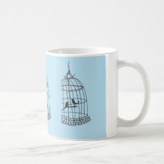 鳥籠のマグ コーヒーマグカップ