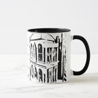 鳥籠のマグ マグカップ