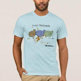 鳥類のムカデ Tシャツ