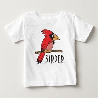 鳥類捕獲人 ベビーTシャツ