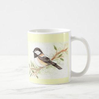 《鳥》アメリカゴガラのコーヒー・マグ コーヒーマグカップ