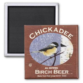 《鳥》アメリカゴガラのバーチビール マグネット