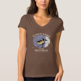 《鳥》アメリカゴガラのバーチビール Tシャツ
