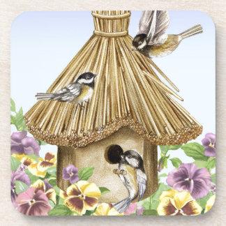 《鳥》アメリカゴガラの巣箱 コースター