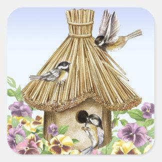 《鳥》アメリカゴガラの巣箱 スクエアシール