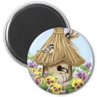 《鳥》アメリカゴガラの巣箱 マグネット