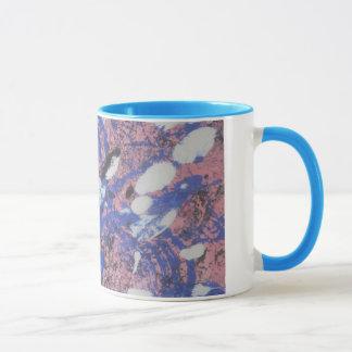 《鳥》アメリカゴガラの着陸のマグ マグカップ