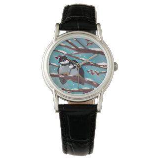 《鳥》アメリカゴガラの腕時計 腕時計