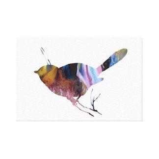 《鳥》アメリカゴガラの芸術 キャンバスプリント