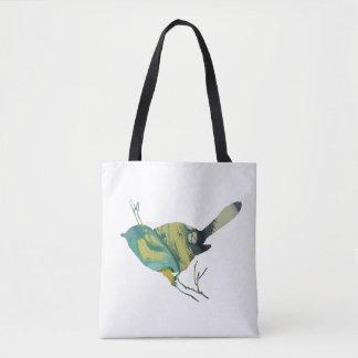 《鳥》アメリカゴガラの芸術 トートバッグ