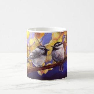 《鳥》アメリカゴガラの雑談 コーヒーマグカップ