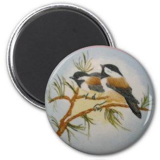 《鳥》アメリカゴガラ マグネット