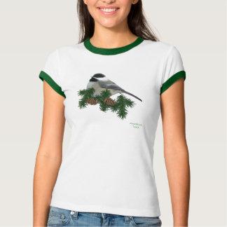 《鳥》アメリカゴガラ(マツ)のTシャツ Tシャツ