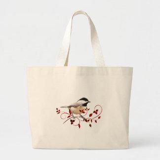 《鳥》アメリカゴガラ ラージトートバッグ