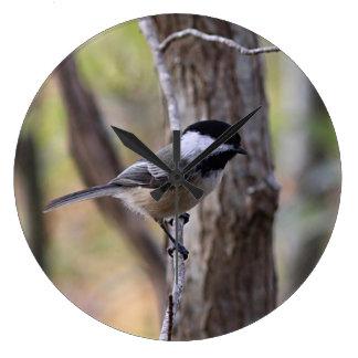 《鳥》アメリカゴガラ ラージ壁時計