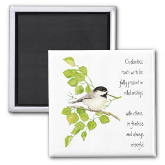 《鳥》アメリカゴガラ、動物のトーテム、鳥、自然 マグネット