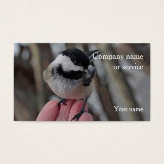 《鳥》アメリカゴガラ 名刺