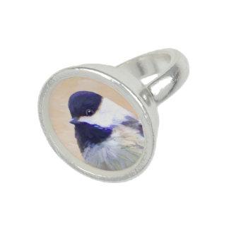 《鳥》アメリカゴガラ 指輪