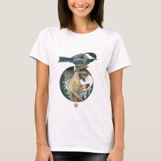 """""""《鳥》アメリカゴガラ"""" Tシャツ"""