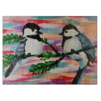 鳥 カッティングボード