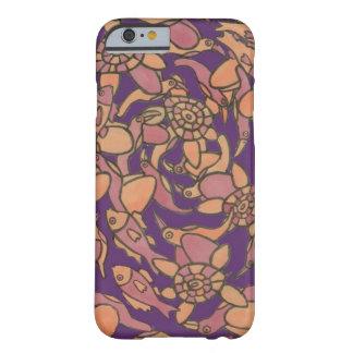 鳥、カメ及び魚 BARELY THERE iPhone 6 ケース