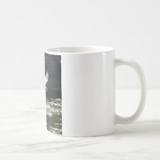 鳥 コーヒーマグカップ