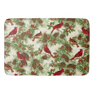 (鳥)ショウジョウコウカンチョウのバス・マット バスマット