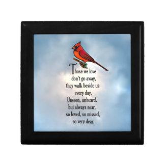 """(鳥)ショウジョウコウカンチョウの""""そう愛された""""詩 ギフトボックス"""