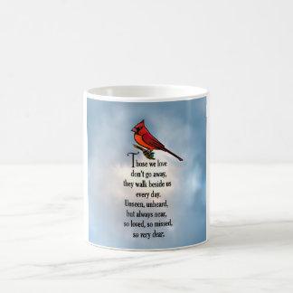 """(鳥)ショウジョウコウカンチョウの""""そう愛された""""詩 コーヒーマグカップ"""