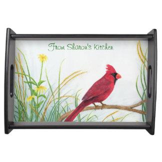 (鳥)ショウジョウコウカンチョウ-トレイ トレー