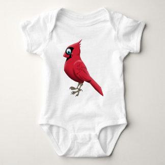 (鳥)ショウジョウコウカンチョウ ベビーボディスーツ