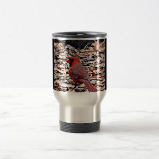 (鳥)ショウジョウコウカンチョウ(男性) トラベルマグ