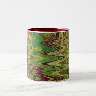 鳥 ツートーンマグカップ