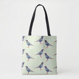 鳥 トートバッグ