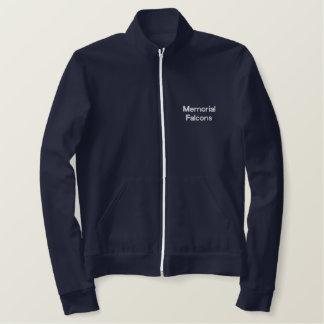 《鳥》ハヤブサのジャケット 刺繍入りジャケット