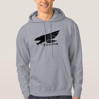 《鳥》ハヤブサのスエットシャツ パーカ