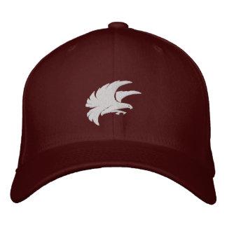 《鳥》ハヤブサのソフトボールの帽子 刺繍入りキャップ