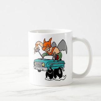 《鳥》ハヤブサのタカ、人! コーヒーマグカップ