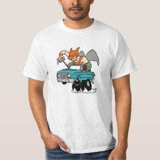 《鳥》ハヤブサのタカ、人! Tシャツ