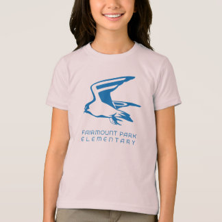 《鳥》ハヤブサのマスコット Tシャツ