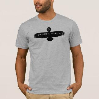 《鳥》ハヤブサの穿孔器 Tシャツ