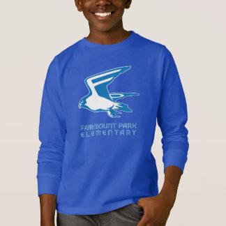 《鳥》ハヤブサの精神の長袖 Tシャツ
