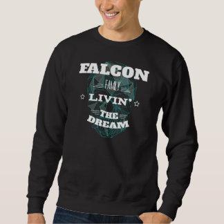 《鳥》ハヤブサ家族Livin夢。 Tシャツ