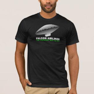 《鳥》ハヤブサ航空会社 Tシャツ