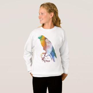 《鳥》ハヤブサ スウェットシャツ