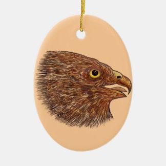 《鳥》ハヤブサ セラミックオーナメント