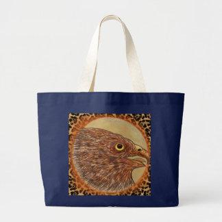《鳥》ハヤブサ ラージトートバッグ